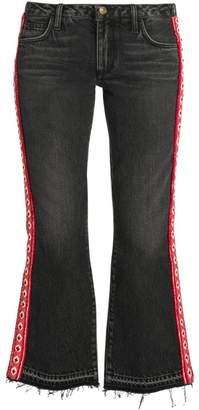 Alanui Embroidered Flare Jeans