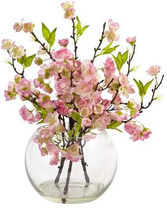 DAY Birger et Mikkelsen Nearly Natural Cherry Blossom Floral Arrangement in Decorative Vase