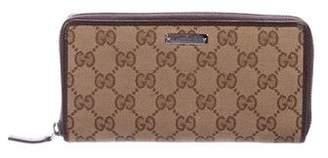Gucci GG Canvas Zip Wallet