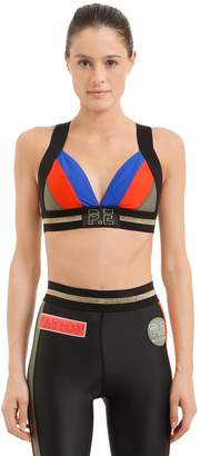 P.E Nation Centre Crop Sports Bra