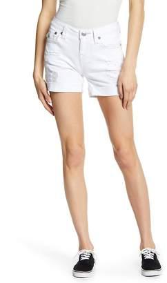 True Religion Fray Cutoff Shorts