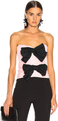 22d82d272b Carmen March CARMEN MARCH Strapless Bow Top in Pink