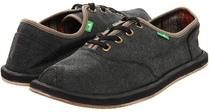 Sanuk Mason (Charcoal) - Footwear