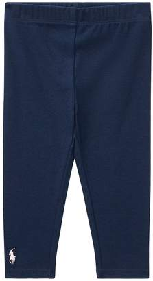 Ralph Lauren Big PP Solid Leggings Girl's Casual Pants
