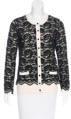 Dolce & Gabbana Layered Lace Cardigan