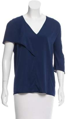Zero Maria Cornejo Asymmetrical Silk Top w/ Tags