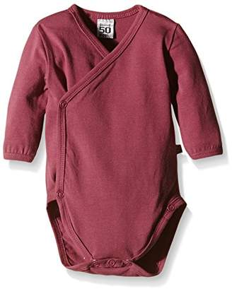 Pippi Baby-Girls Wrap-Around Long Sleeve-Solid Bodysuit,(Manufacturer Size:68)