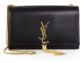 Saint Laurent Medium Kate Monogram Leather Tassel Chain Shoulder Bag