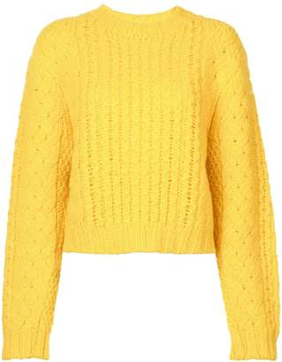 R 13 chunky knit sweater