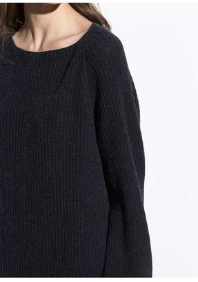 Vince Ribbed Wool-Cashmere Dress