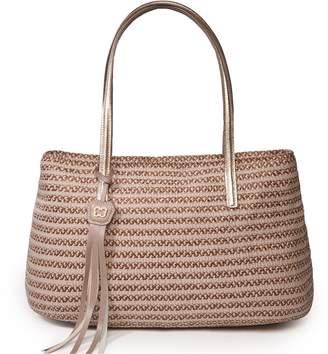 Eric Javits Luxury Fashion Designer Women's Handbag - Dame Brooke
