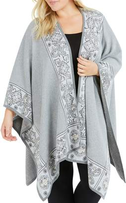 Foxcroft The Walker Paisley Jacquard Cardigan