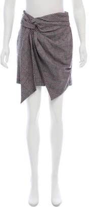 Isabel Marant Plaid Knee-Length Skirt