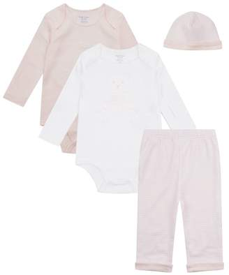 Polo Ralph Lauren Bodysuit, Hat and Trouser Set
