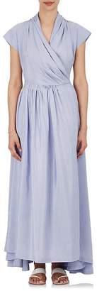 Thierry Colson Women's Isolde Striped Silk Wrap Dress