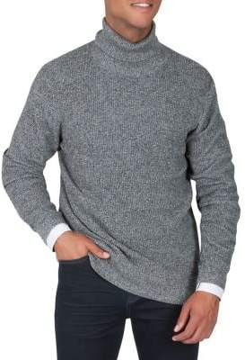 Kenneth Cole New York Thermal Turtleneck Sweater