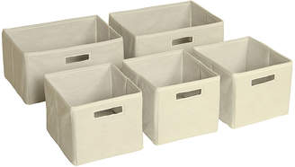 Guidecraft Classic Espresso Storage Bin Set