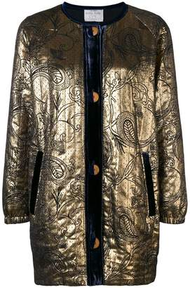 Forte Forte embroidered fitted jacket