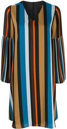 Steffen Schraut striped midi dress