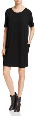 Eileen Fisher Round Neck Dress $178 thestylecure.com