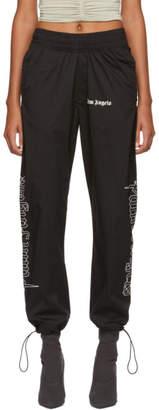 Palm Angels Black Goth After Sport Lounge Pants