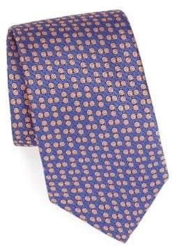Charvet Neat Silk Tie