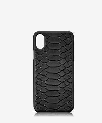 GiGi New York iPhone X Hard-Shell Case Embossed Python