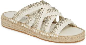 Donald J Pliner Rhonda Woven Espadrille Slide Sandal
