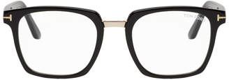 Tom Ford Black Block Bridge Glasses