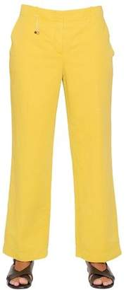 Incotex Aisha Cotton & Linen Blend Pants