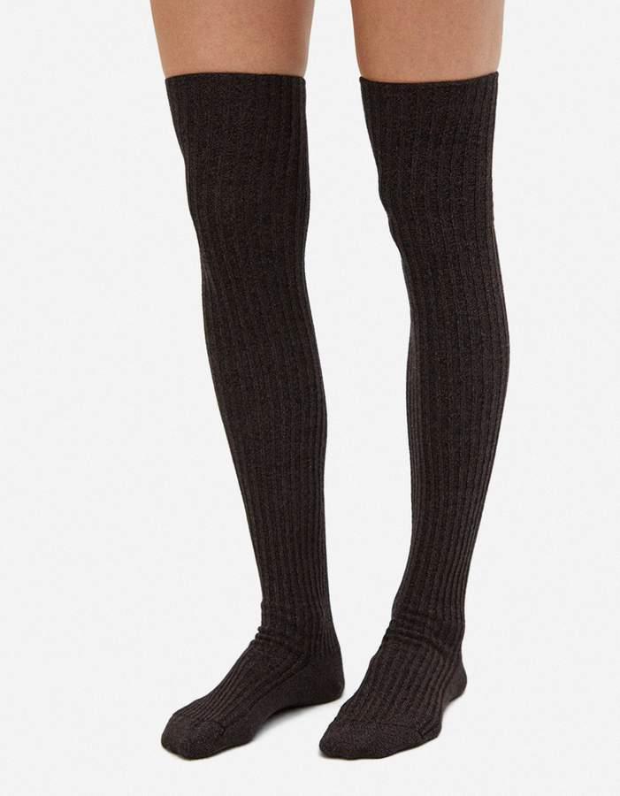 Silk Overknee Socks