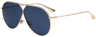 Christian Dior Stell3 Mirrored Aviator Sunglasses