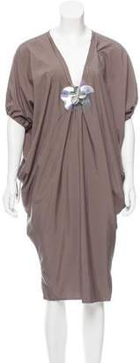 Lanvin Embellished Tent Dress