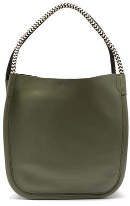 Proenza Schouler L Tote Leather Bag - Womens - Khaki