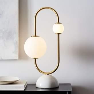 west elm Framed Sphere Table Lamp