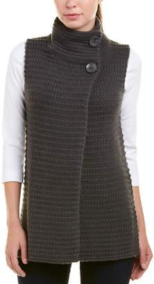 Autumn Cashmere Mock Neck Wool & Cashmere-Blend Gilet