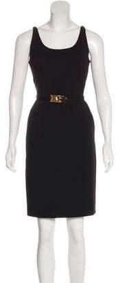 Fendi Knee-Length Sleeveless Dress