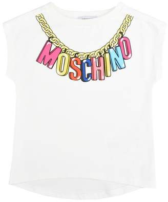Moschino OFFICIAL STORE Sleeveless t-shirt