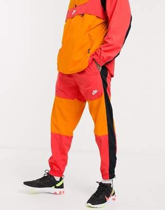 Nike Logo Sweatpants Pink