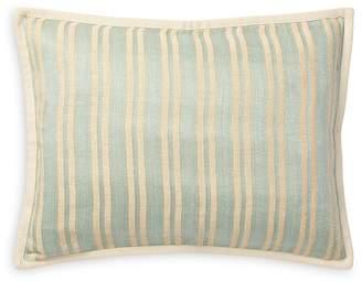 "Ralph Lauren Bretton Stripe Decorative Pillow, 15"" x 20"""