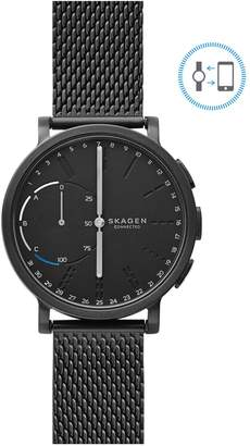 Skagen Unisex Hagen Connected Leather Smart Watch