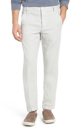 Men's James Perse Slub Linen Twill Utility Pants $245 thestylecure.com