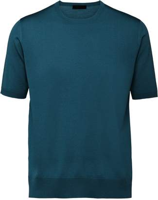 Prada short-sleeve fitted T-shirt