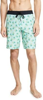 RVCA Pineapple Print Trunks