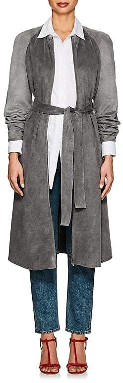 Women's Long Belted Coat
