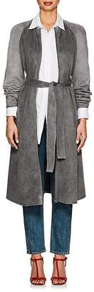 Giorgio Armani Women's Long Belted Coat