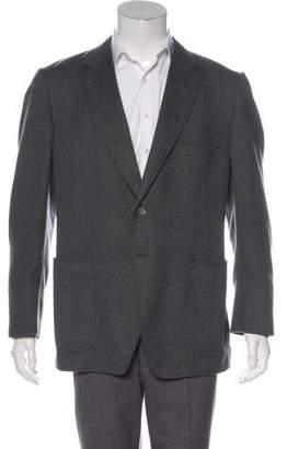 Tom Ford Cashmere Suede-Trimmed Blazer