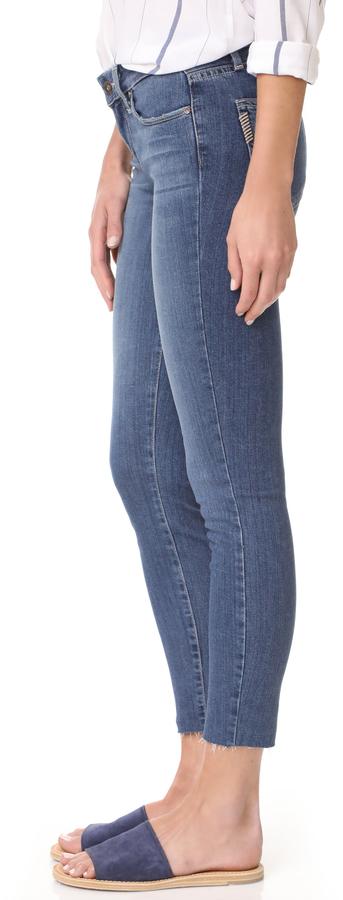 PAIGE Verdugo Crop Skinny Jeans 4