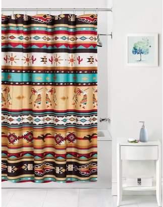 Mainstays Kokopelli Coordinating Fabric shower curtain