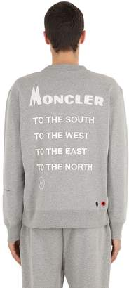 Moncler 7 Fragment Cotton Sweatshirt